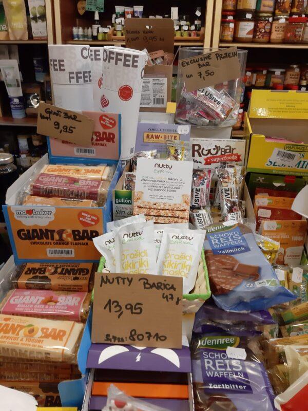 Nutty Barica u trgovini Zdrava Hrana Trsat